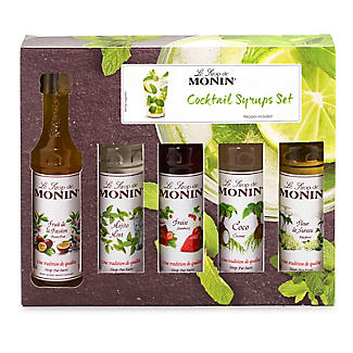Monin Flavoured Cocktail Syrups Gift Set 5 x 50ml