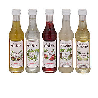 Monin Flavoured Cocktail Syrups Gift Set 5 x 50ml alt image 2