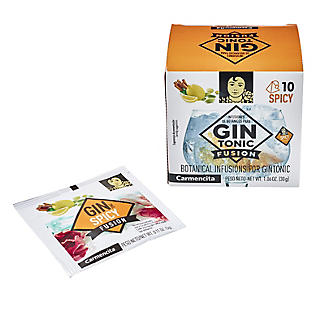 Carmencita Gin Fusion Botanical 'Teabags' for Gin Spicy – Pack of 10