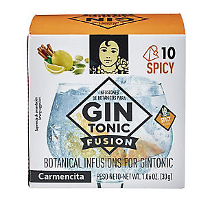 Carmencita Gin Fusion Botanical 'Teabags' for Gin Spicy – Pack of 10 alt image 2