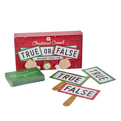 True or False Christmas Quiz Game   Lakeland