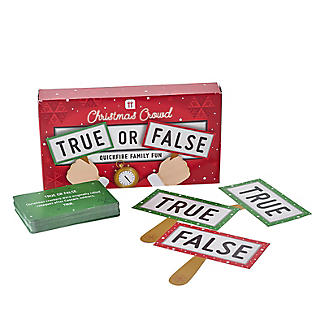 True or False Christmas Quiz Game