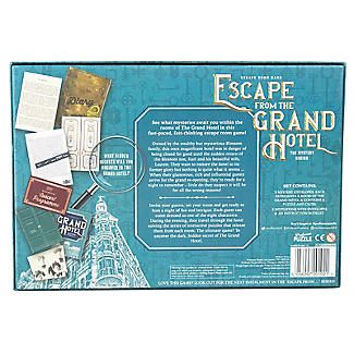 Escape from the Grand Hotel Board Game - 2-8 Players alt image 3