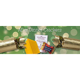 6 Fudge-Filled Golden After-Dinner Christmas Crackers alt image 5