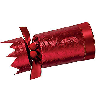 6 Red and Gold Luxury Christmas Crackers  alt image 5