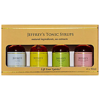 Jeffrey's Tonic Syrups Gift Pack – 4 x 50ml alt image 4