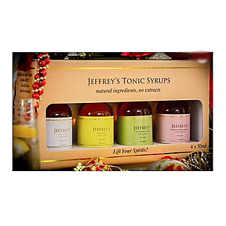 Jeffrey's Tonic Syrups Gift Pack – 4 x 50ml alt image 5