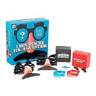 I Moustache You A Question Table Game - 2-6 Players