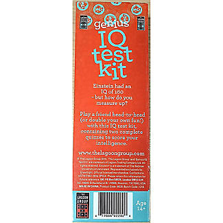 Einstein Genius IQ Test Kit - 2 Full Tests alt image 5