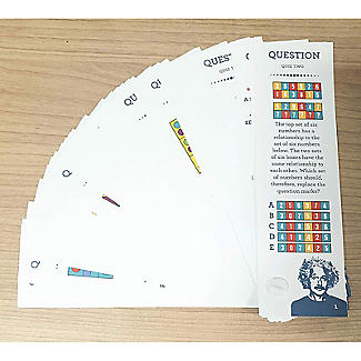Einstein Genius IQ Test Kit - 2 Full Tests | Lakeland
