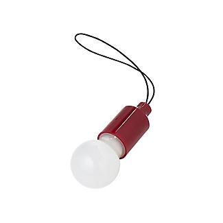 Kikkerland Mini Pull Light LED Lightbulb for Bags and Key-Rings - Colours Vary