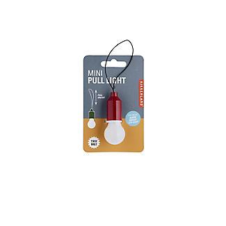 Kikkerland Mini Pull Light LED Lightbulb for Bags and Key-Rings - Colours Vary alt image 2