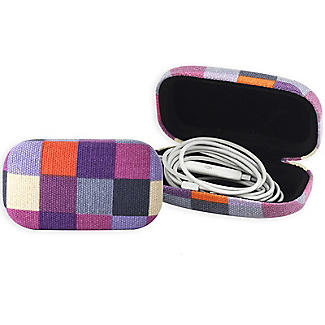 Fabric Covered Mini Pocket Travel Case