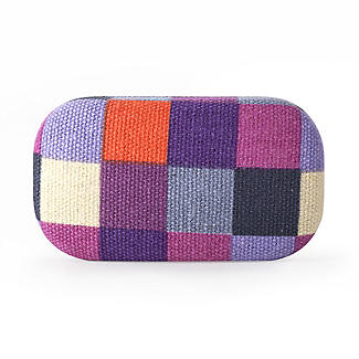 Fabric Covered Mini Pocket Travel Case  alt image 3