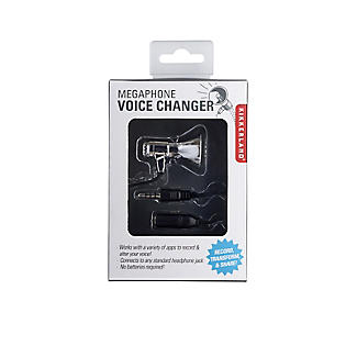 Kikkerland Mini Megaphone Voice Changer for use with a Smartphone alt image 2