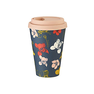 RHS Irises and Hellebores Bamboo Travel Mug 450ml alt image 3