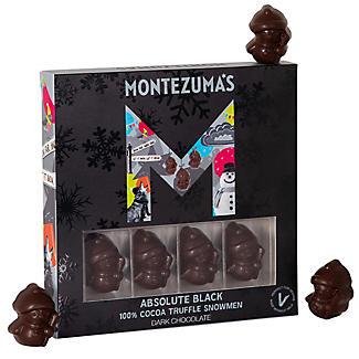 Montezuma's Absolute Black Truffle-Filled Chocolate Snowmen 110g