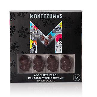 Montezuma's Absolute Black Truffle-Filled Chocolate Snowmen 110g alt image 3
