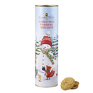 Grandma Wild's Large Snowman Biscuit Tube 200g