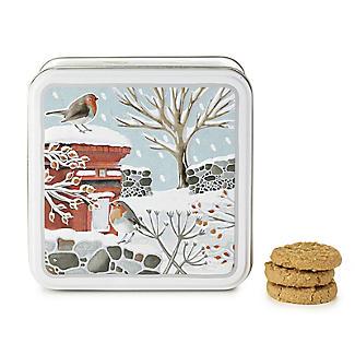 Grandma Wild's Robins in Winter Biscuit Tin 160g