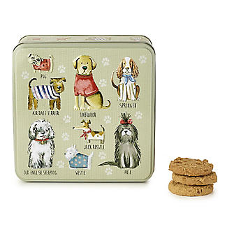 Grandma Wild's Dogs in Jumpers Biscuit Tin 160g