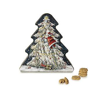 Grandma Wild's Christmas Tree Biscuit Tin 300g