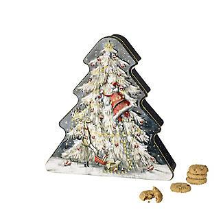 Grandma Wild's Christmas Tree Biscuit Tin 300g alt image 2
