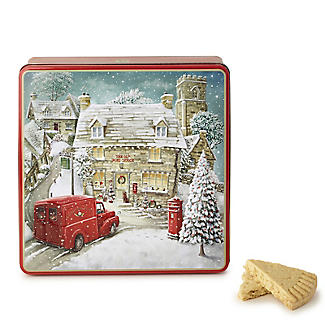 Grandma Wild's Winter Village Biscuit Tin 400g