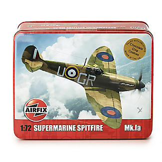Airfix Biscuit Tin with Chocolate Chip Cookies 320g alt image 2