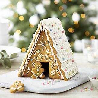 Gluten-Free Christmas Gingerbread House Kit alt image 2