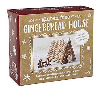 Gluten-Free Christmas Gingerbread House Kit alt image 6