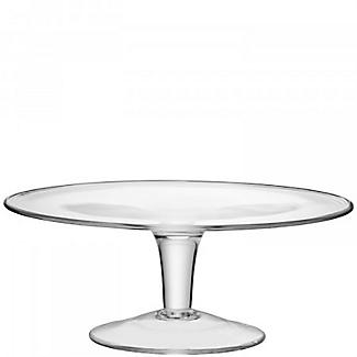 LSA Serve Clear Glass Cake Stand 31cm alt image 3
