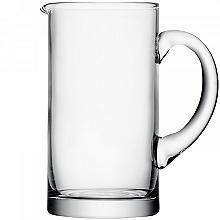 LSA Clear Glass Basis Fridge Door Jug 1L