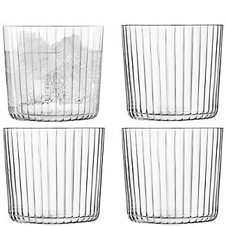 4 LSA Gio Tumbler Glasses Set