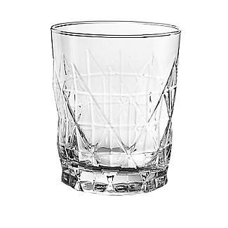 Ravenhead Entertain Geometric Cut Rum Glasses – Set of 4 alt image 4