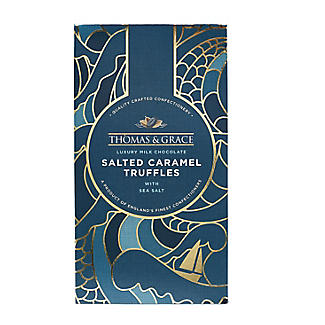 Thomas & Grace Luxury Milk Chocolate Salted Caramel Truffles