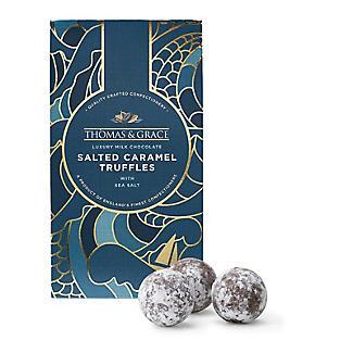 Thomas & Grace Luxury Milk Chocolate Salted Caramel Truffles alt image 2