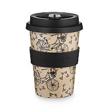 Huskup Reusable Eco Cup – Bicycle 400ml