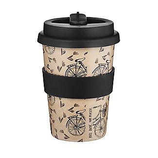 Huskup Reusable Eco Cup – Bicycle 400ml alt image 2