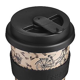 Huskup Reusable Eco Cup – Bicycle 400ml alt image 5