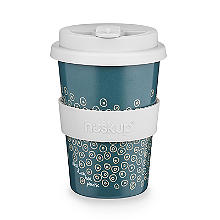 Huskup Reusable Eco Cup – Dots 400ml