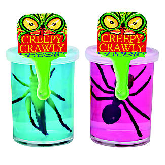 Creepy Crawly Gloopy Gloop Pot of Slime with Plastic Insect