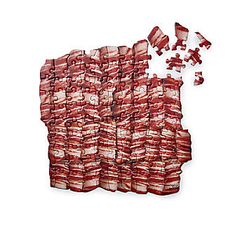 100 Piece Pigs in Blankets Double Sided Jigsaw Puzzle
