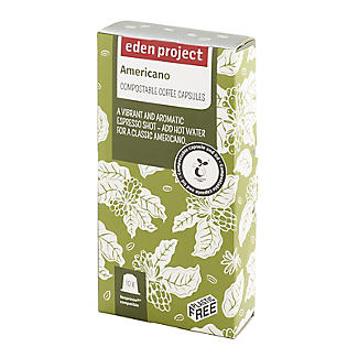 Eden Project Americano Coffee Capsules – Pack of 10 alt image 2