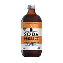 Soda Press Co Original Ginger Ale Syrup 500ml