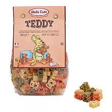 Dalla Costa Tricolour Teddy Pasta Shapes 250g