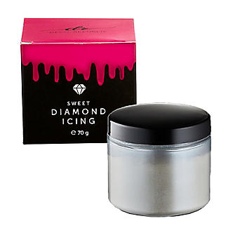 Sweet Diamond Shimmer Icing Sugar – Blue 70g