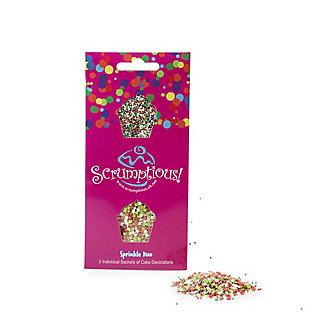 Scrumptious Sprinkles Christmas Sprinkle Duo 2 x 20g