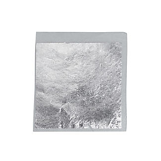 Sugarflair Edible Silver Leaf Transfer Sheet – 8cm Square alt image 2