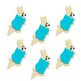 Peter Rabbit Edible Sugarcraft Cake Toppers – Pack of 6